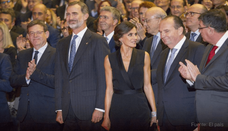 El Rey Felipe VI elogia a empresa valenciana