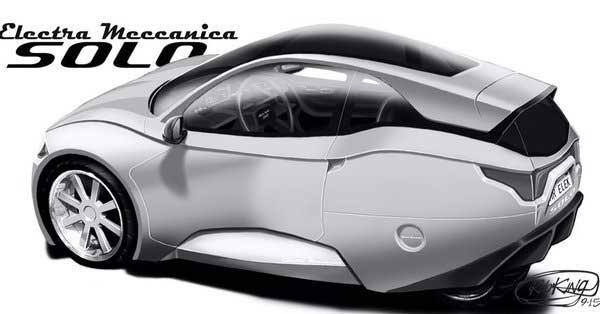 Electra meccanica lanzó el Solo y Tesla tiene nuevo competidor