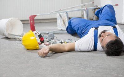 Los accidentes laborales en las empresas españolas