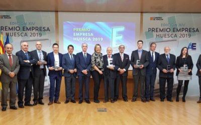 Elegidas compañías finalistas en Premios Empresa Huesca 2020